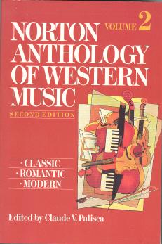 Norton Anthology of Western Music Volume 2