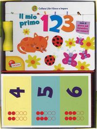 Il mio primo 123. Carotina. Libri gioco e imparo. Ediz. a colori. Con gadget