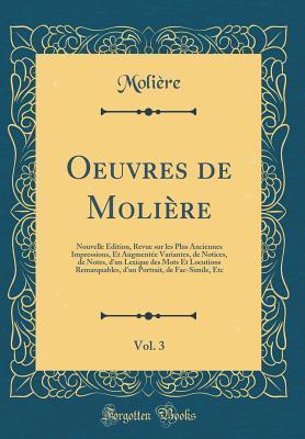 Oeuvres de Molière, Vol. 3