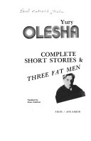 Complete short stories and Three fat men
