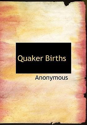 Quaker Births