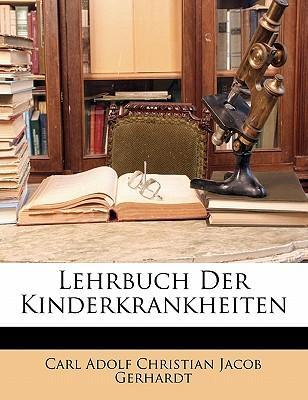 Lehrbuch Der Kinderkrankheiten (German Edition)