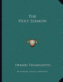 The Holy Sermon