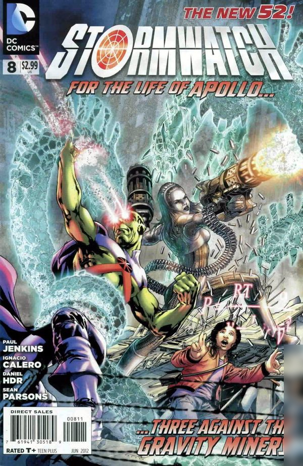 Stormwatch Vol.3 #8