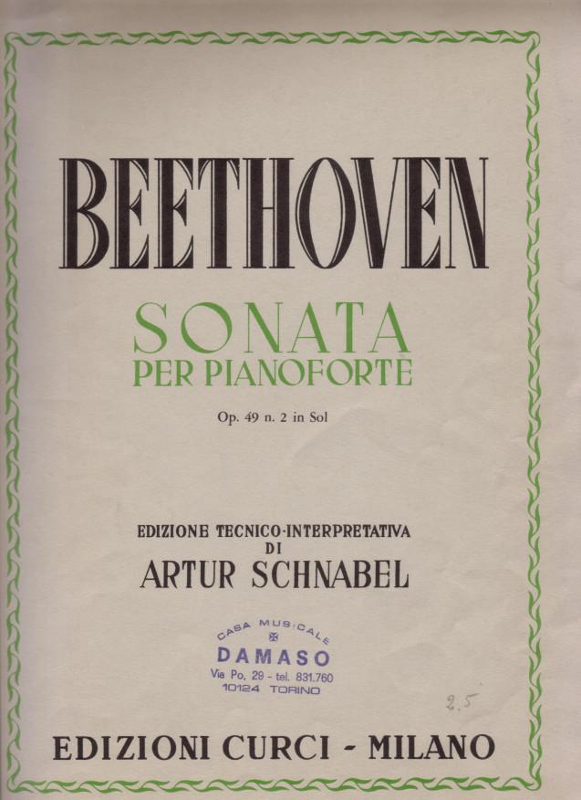 Sonata per pianoforte op. 49 n. 2 in sol