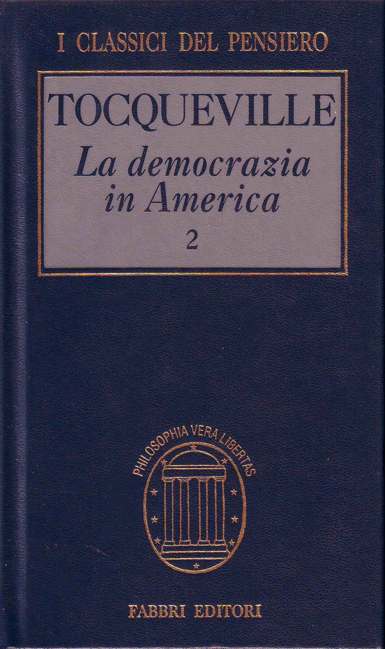 La democrazia in America vol.2