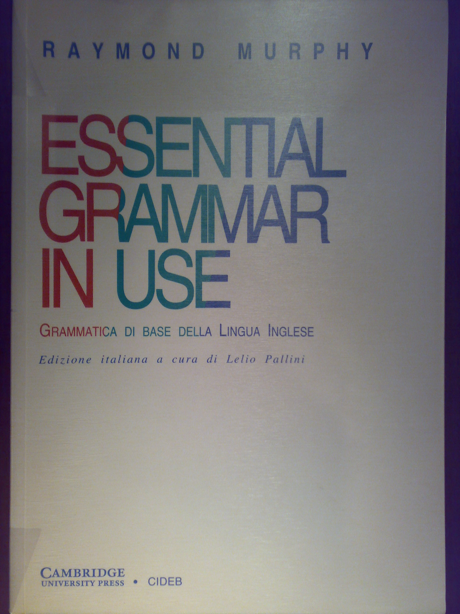 Essential Grammar in...