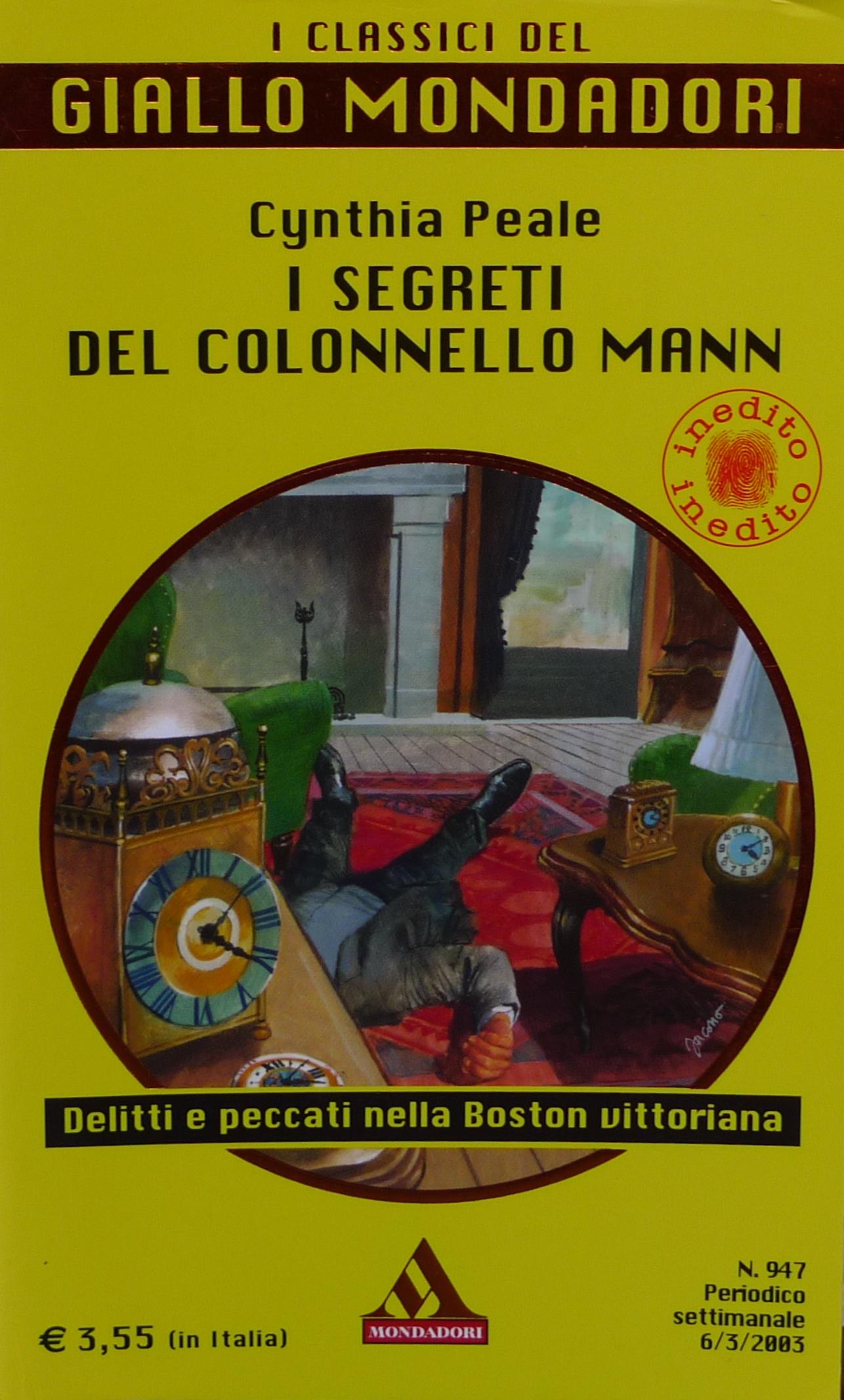 I segreti del colonnello Mann