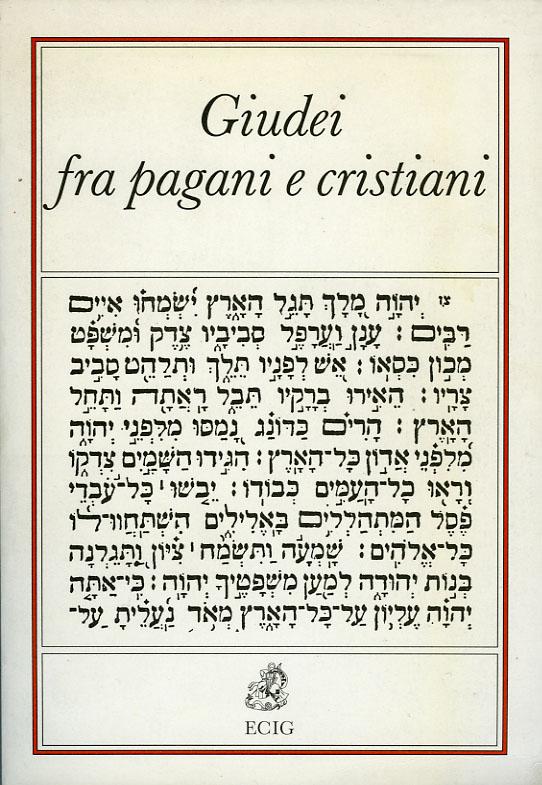 Giudei fra pagani e cristiani