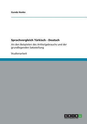 Sprachvergleich Türkisch - Deutsch