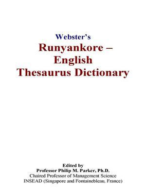 Webster's Runyankore - English Thesaurus Dictionary