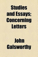 Studies and Essays; Concerning Letters