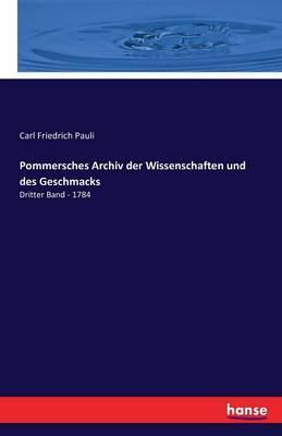 Pommersches Archiv d...