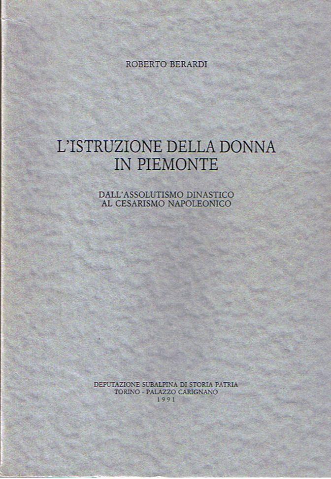 L'istruzione della donna in Piemonte