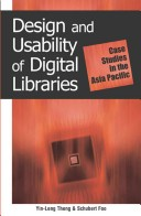 Design and Usability of Digital Libraries