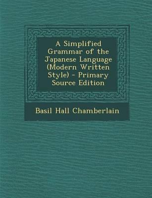 A Simplified Grammar...