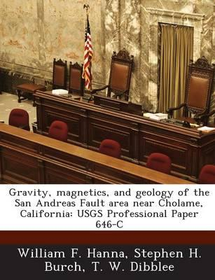 Gravity, Magnetics, and Geology of the San Andreas Fault Area Near Cholame, California