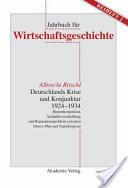 Deutschlands Krise und Konjunktur 1924-1934