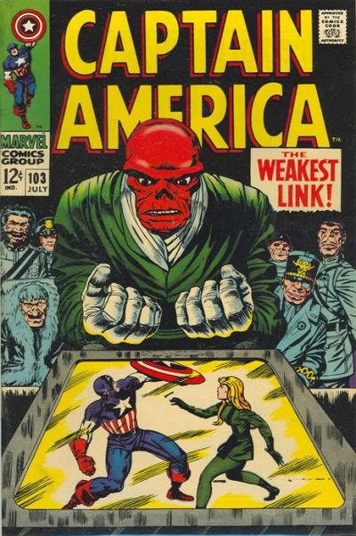 Captain America vol.1 #103
