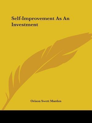 Self-Improvement As ...