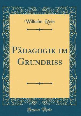 Pädagogik im Grundriss (Classic Reprint)
