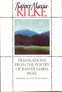 Translations from the Poetry of Rainer Maria Rilke