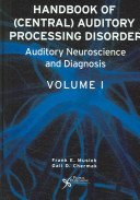 Handbook of Central Auditory Processing Disorders