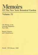 The Botany of the Guayana Highland