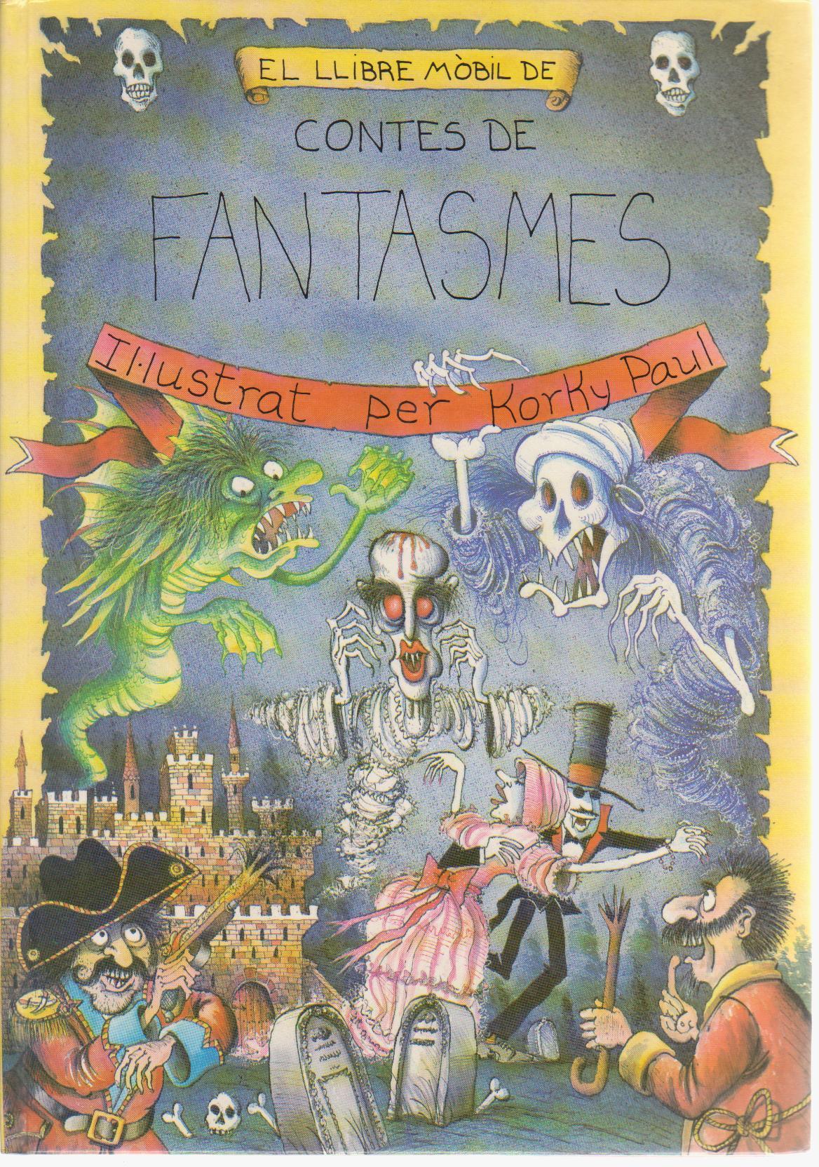 El llibre mòbil de contes de fantasmes