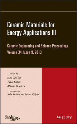Ceramic Materials for Energy Applications III