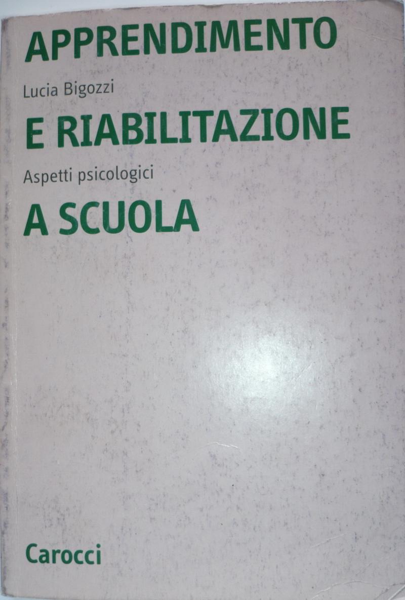 Apprendimento e riabilitazione a scuola