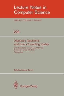 Algebraic Algorithms and Error-correcting Codes