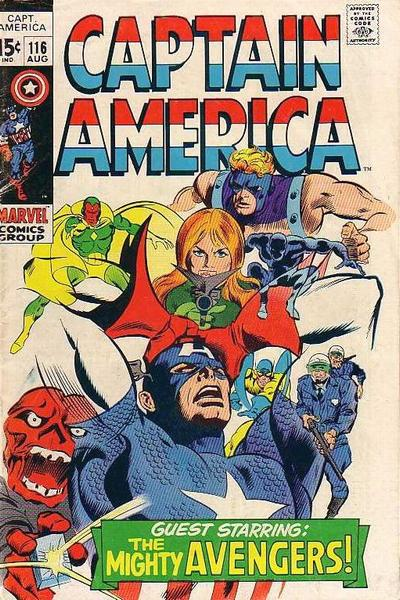 Captain America Vol.1 #116