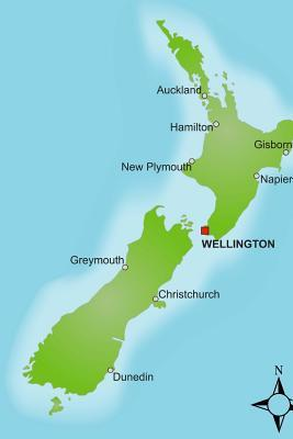 Map of New Zealand J...