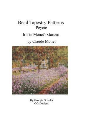 Bead Tapestry Patterns Peyote Iris in Monet's Garden