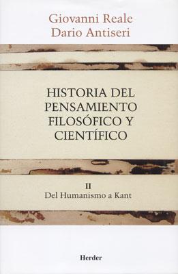 Historia del Pensamiento Filosofico y Cientifico - Vol 2