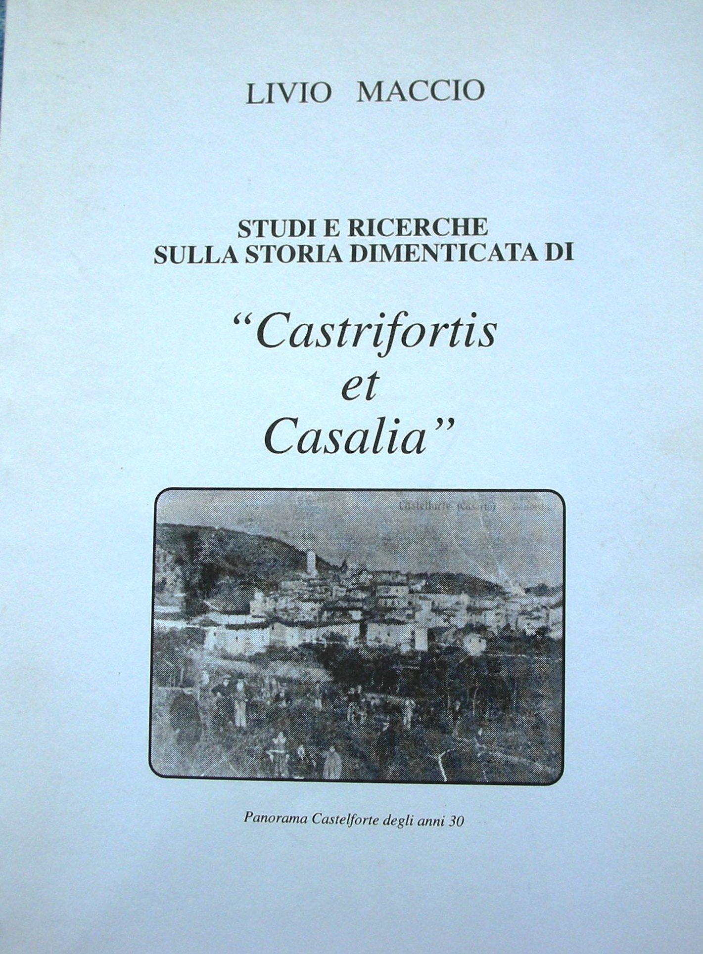 Studi e ricerche sulla storia dimenticata di Castrifortis et Casalia