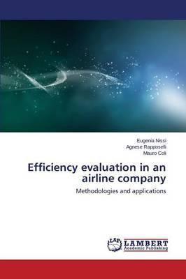 Efficiency evaluation in an airline company