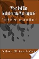 When Did the Mahabharata War Happen?