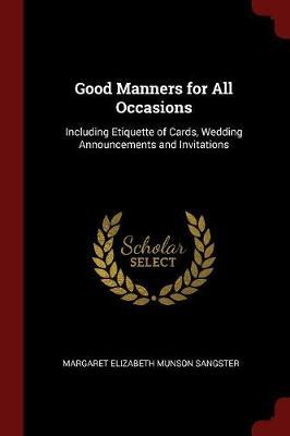 Good Manners for All...
