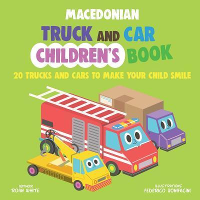Macedonian Truck and Car Children's Book
