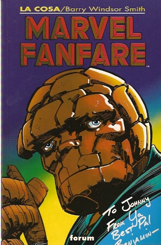 Marvel Fanfare: La C...
