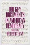 100 key documents in American democracy