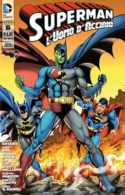 Superman l'Uomo d'Acciaio n. 6 - Variant