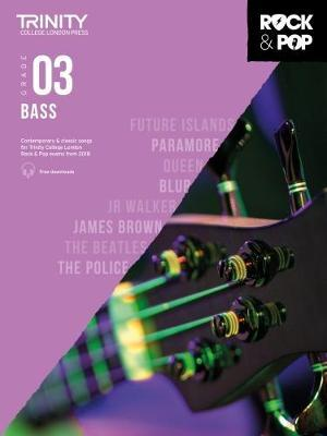Trinity College London Rock & Pop 2018 Bass Grade 3