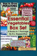 Essential Vegetables Box Set (4 Books in 1 Package)