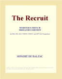The Recruit (Webster's French Thesaurus Edition)