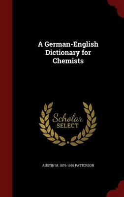 A German-English Dictionary for Chemists
