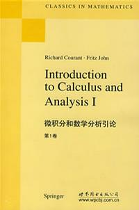 Introduction to calculus and analysis 1