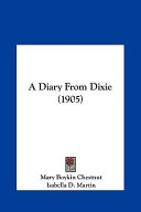 A Diary from Dixie (1905)